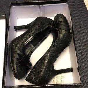 """Deb sparkle heels size 8 3.5"""" heel"""